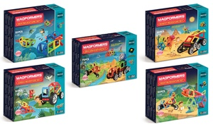 Magformers Build An Adventure Set (32- or 76-Piece)