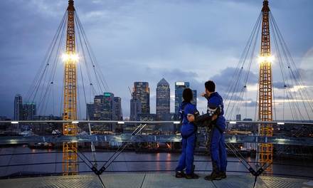 Up at The O2: Climb Experience with a Souvenir Summit Guide plus £5 Groupon Credit (25% Off)
