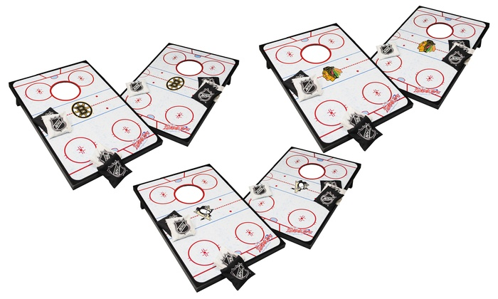 NHL 24'' X 36'' Tailgate Toss Set with 8 Bags