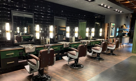 Haircut with Optional Beard Trim at Steele Barber (Up to 31% Off). Five Options Available