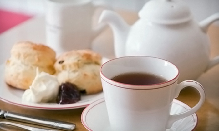 British Bell Tea Room - Glasgow: $12 for High Tea for One with Sandwiches, a Scone, and Desserts at British Bell Tea Room ($25 Value)