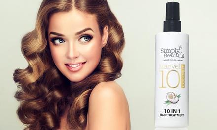 Fino a 3 spray di trattamento per capelli da donna Marvel 10 Simply Beautiful da 250 ml