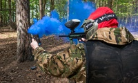 Kids, Stag or Hen Party for Up to Ten with 100 Paintballs Each and Lunch at Top Dog Paintball