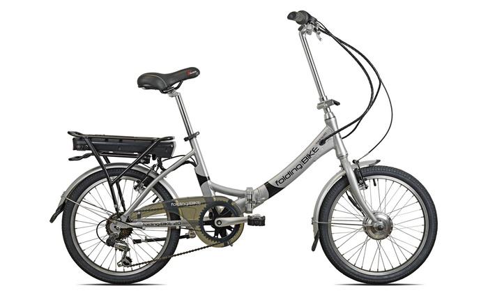 Bicicletta Elettrica Eco Litio Pieghevole Esperia 1280 A 79998 33 Di Sconto