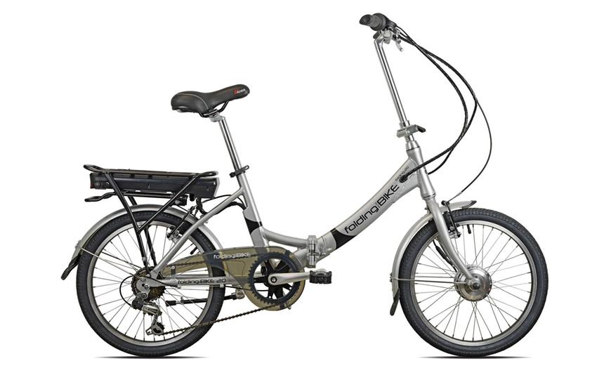 Bicicletta elettrica pieghevole | Groupon