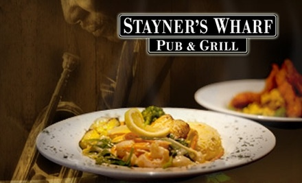 Stayner's Wharf Pub & Grill: $40 Groupon for Dinner - Stayner's Wharf Pub & Grill in Halifax