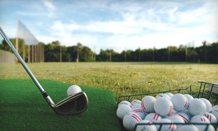 Santiam Golf Club - Southeast Mill Creek: Golf Outing with Range Balls at Santiam Golf Club in Aumsville (Up to 55% Off). Four Options Available.