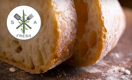 $50 Groupon to SA Fresh Catering - SA Fresh Catering in San Antonio