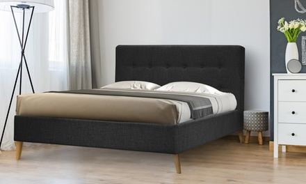 lit scandinave avec sans matelas groupon. Black Bedroom Furniture Sets. Home Design Ideas