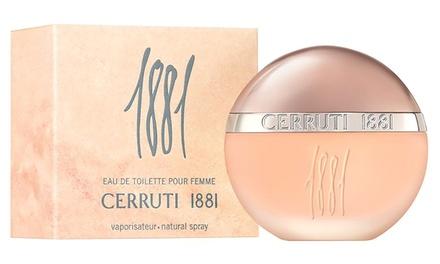 50ml or 100ml Bottle of Cerruti 1881 Women's Eau de Toilette