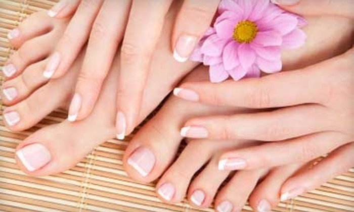 Fedora Kate Nails & Day Spa - Oak Brook: $32 for a Spa Mani-Pedi at Fedora Kate Nails & Spa in Oak Brook ($65 value)