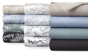 Microfiber Premium Collection Printed or Solid Sheet Set