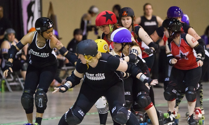 River City Rollergirls: Spring Fling - City Center: $10 for a River City Rollergirls Bout for Two at Greater Richmond Convention Center on May 17 ($22.50 Value)