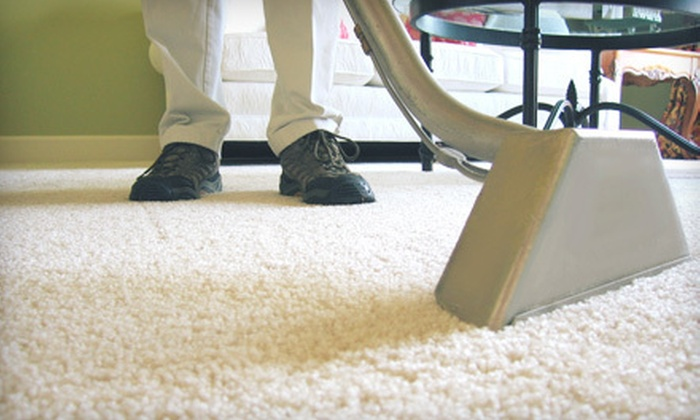 New Magic Carpet  - North Bergen: Carpet Cleaning for Up to 500 Square Feet or Up to 1,250 Square Feet from New Magic Carpet (Up to 77% Off)