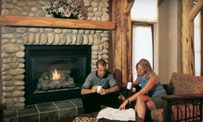 Trickle Creek Lodge - Kimberley: $96 for a One-Night Resort Stay at Trickle Creek Lodge in Kimberley (Up to $193 Value)