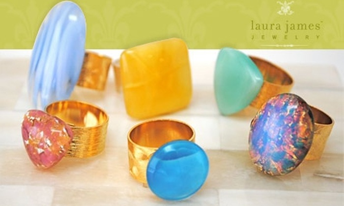 Laura James Jewelry - Dilworth: $35 for $75 Worth of Eclectic, Chic Jewelry from Laura James Jewelry