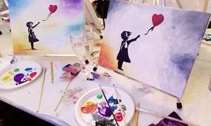 ArtNight: Unterhaltsames Painting Event in ausgesuchten Bars & Restaurants von ArtNight (bis zu 33% sparen*)