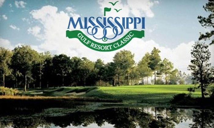 Mississippi Gulf Resort Classic: $20 for Four Tickets to Mississippi Gulf Resort Classic (Up to $60 Value)