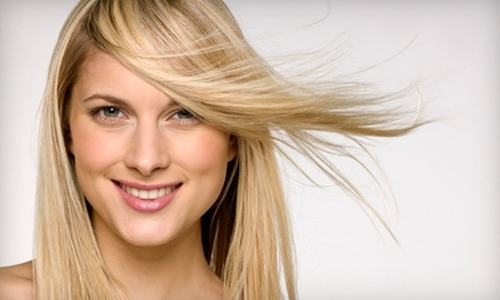 Rootz Salon & Spa  - Los Gatos: $80 for a Haircut, Style, and Choice of Partial Highlight or Full Color at Rootz Salon & Spa in Los Gatos (Up to $195 Value)