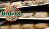 The Bagel Store - Multiple Locations: $10 for a Dozen Bagels and One Pound of Cream Cheese at The Bagel Store ($20 Value)
