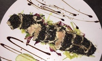 Menu di pesce con vino per 2 o 4 persone all'Hostaria Ai Gigli d'Oro, zona piazza Navona (sconto fino a 58%)