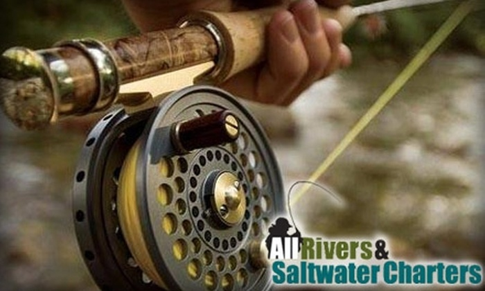 All Rivers & Saltwater Charters - Carnation: $37 for a Two-Hour Entry Level Fly Casting Lesson at All Rivers & Saltwater Charters ($100 Value)