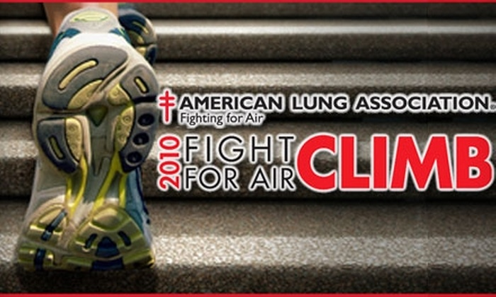 American Lung Association's Fight for Air Climb: Bellevue Towers - Seattle: $25 for Entry to the American Lung Association's Fight for Air Climb: Bellevue Towers on October 23 ($50 Value)
