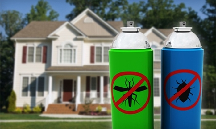 The Bug Man - Baton Rouge: $40 for an Interior and Exterior Pest-Control Spray from The Bug Man ($95 Value)