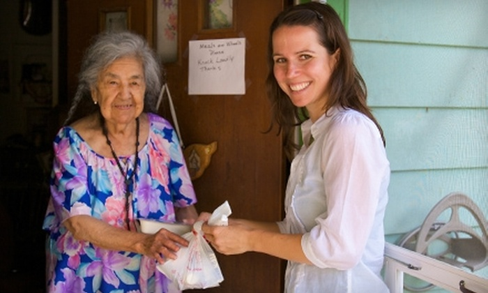Meals on Wheels and More: Donate $15 to Help Meals on Wheels and More Provide Air-Conditioning Units to Low-Income Seniors