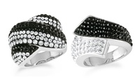 GROUPON: Crystal Fashion Rings with Swarovski Elements Crystal Fashion Rings with Swarovski Elements