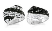 GROUPON: Crystal Fashion Rings with Swarovski Elements Crystal Fashion Rings with Swarovski Elements