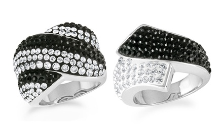 Crystal Fashion Rings with Swarovski Elements