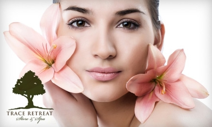 Trace Retreat Store & Spa - Traceside: $99 for 30-Minute Microdermabrasion Treatment, Signature Facial, and Body-Scrub Treatment at Trace Retreat Store & Spa ($205 Value)