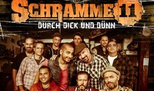 """Contra Promotion: Ticket für """"Schramme11"""" am 05.10. in der Markthalle Hamburg oder am 12.10. im Postbahnhof Berlin (27% sparen*)"""