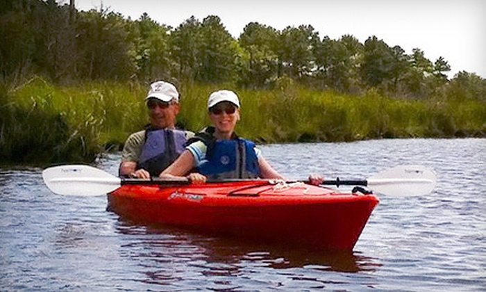Ayers Creek Adventures - Delmar: Two-Person Tandem Kayak Tour or Rental from Ayers Creek Adventures in Berlin (56% Off)