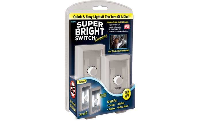 As Seen on TV Dimmer (2 Pack) | Groupon Goods
