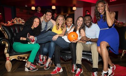 Two Hours of <strong>Bowling</strong> and Shoe Rental for Two, Four, or Six Guests at Bowlero (Up to 64% Off)