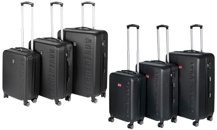 Three-Piece Hard Shell Suitcase Set