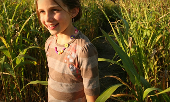 Howard Farms - Knoxville: Big Piney Corn Maze or Haunted Trail Outing for Two or Four at Howard Farms in Loudon