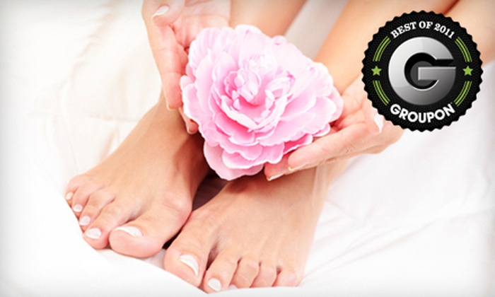 QQ Nail Spa - Multiple Locations: $16 for a Mani-Pedi at QQ Nail Spa ($32 Value)