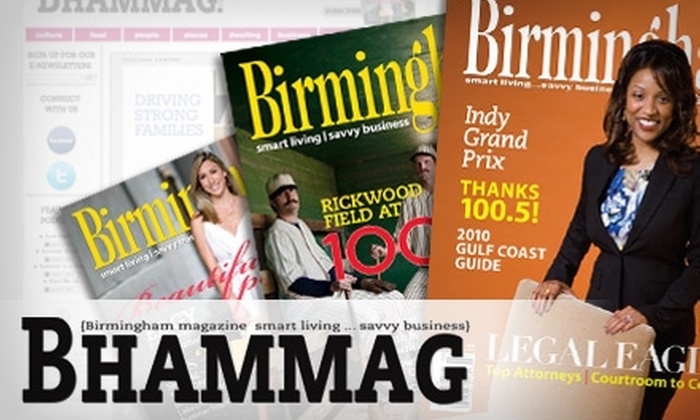 """Birmingham"" Magazine - Five Points South: $6 for 13 Issues of ""Birmingham"" Magazine"
