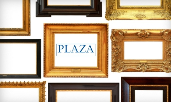 Plaza Artist Materials & Picture Framing - Downtown Nashville: $40 for $100 Toward Custom Framing at Plaza Artist Materials & Picture Framing