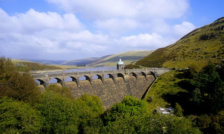 Powys: 13 Nights for One or Two with Breakfast, Late CheckOut and Option for Dinner Credit and Wine at Elan Valley