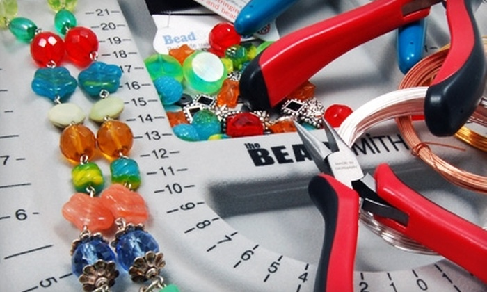 Baubles and Beads - Multiple Locations: $22 for a Basic Stringing or Basic Wire Work Class at Baubles and Beads ($45 Value)