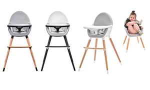 Chaise haute bébé 2en1 Kinderkraft