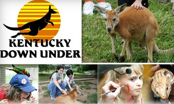 Kentucky Down Under - Horse Cave: Admission to Kentucky Down Under. Choose Adult or Child Ticket.