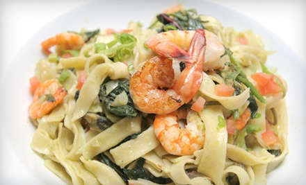 Laguna Blu Restaurant: Meal for 2 (up to a $77 value) - Laguna Blu Restaurant in New Westminster