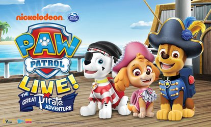 image for PAW Patrol Live! The Great Pirate Adventure: Tickets from $29.90, 12 May - 17 June, National Tour