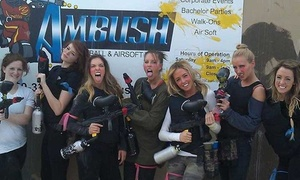 Up to 89% Off Paintball at Ambush Paintball and Airsoft Park at Ambush Paintball and Airsoft Park, plus 6.0% Cash Back from Ebates.