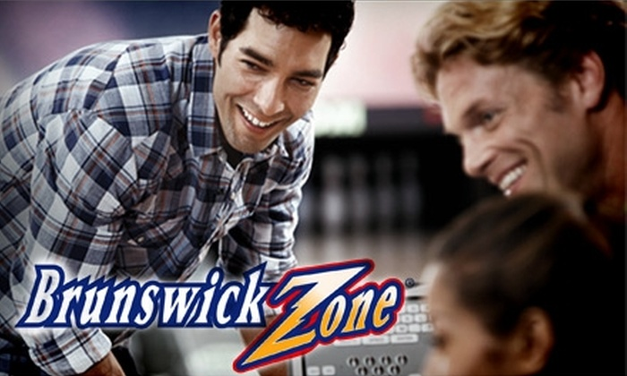 Brunswick Bowling - Multiple Locations: $5 for Two Games of Bowling Plus One Pair of Rental Shoes at Brunswick Bowling (Up to $15 Value)